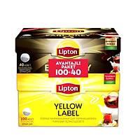 Lipton Yellow Label Demlik Poşet 100'lü (320 gram) + Earl Grey Demlik Poşet 40'lı (128 gram)