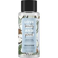 Love Beauty and Planet Hindistan Cevizi Suyu ve Mimoza Çiçeði Özlü Þampuan 400 ml