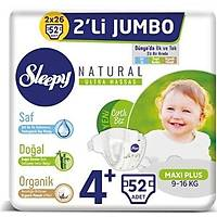 Sleepy Bebek Bezi 4+ Beden Maxi Plus 9-16 Kg 52 Adet