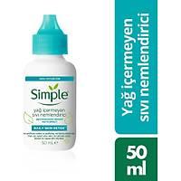 Simple Yað Ýçermeyen Likit Nemlendirici 50 ml
