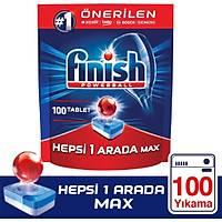 Finish Hepsi Bir Arada 100 Tablet Bulaþýk Makinesi Deterjaný