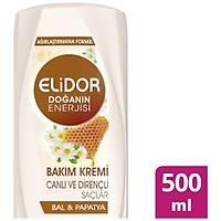 Elidor Canlý & Dirençli Saç Bakým Kremi 500 ml