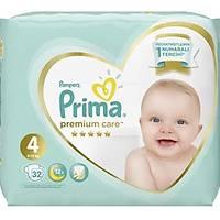 Prima Bebek Bezi Premium Care 4 Beden 9-14 kg 32 Adet