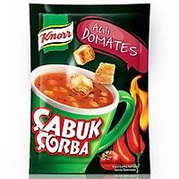 Knorr Çabuk Çorba Acýlý Domates 22 Gr