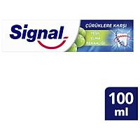 Signal Çürüklere Karþý Yeþil Elma Ferahlýðý 100ML