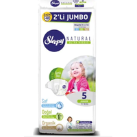 Sleepy Natural Jumbo 5 Beden Junior Bebek Bezi 48 Adet