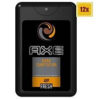 Axe Cep Parfümü Dark Temptation 17 ml 12'li Set