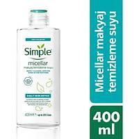 Simple Micellar Makyaj Temizleme Suyu 400 ml