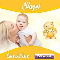 Sleepy Sensitive Islak Mendil 3 Adet (3x50 Yaprak)