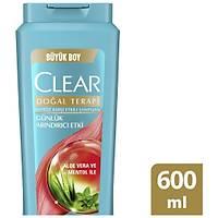 Clear Günlük Arýndýrýcý Etkili Aloe Vera ve Menthol Þampuan 600 ml