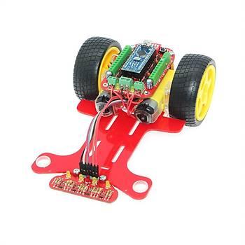 Çizgi Ýzleyen Robot Kiti - Alfa Demonte