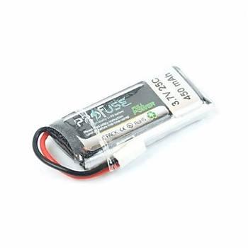 3.7V Lipo Batarya 450mAh 25C - Mikro Drone Pili