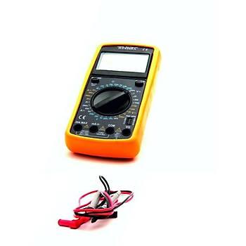 Dijital Multimetre 600 V AC-DC 20 A
