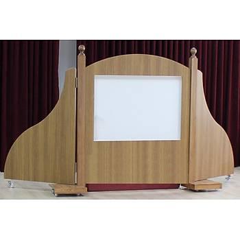 Kukla Perdesi Sahne Düzeneði (90cm x 120cm x 90cm x 145cm)
