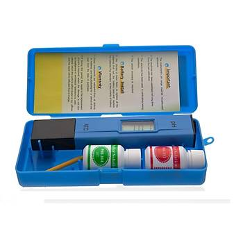 PH Metre (0,1 ph Brm. ayarlý, cam elekt. ve kalibr. çözeltili)