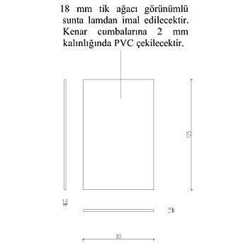 Ahþap Pano (80cm x 125cm)