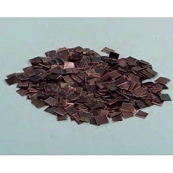 Bakýr Parçalarý (0.5x10x10 mm.) 200 gr. AMB.