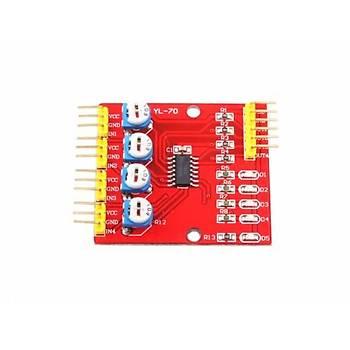 4'lü Çizgi Ýzleyen Sensör Seti - 4 Way Tracking Module