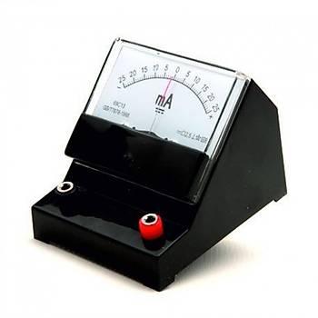 Ampermetre (25-0-25 mA)