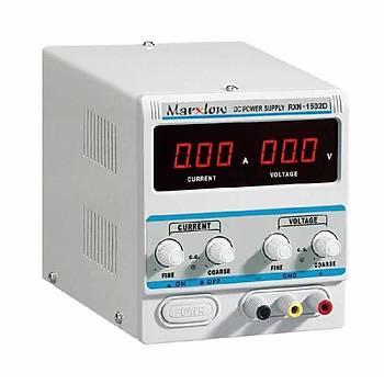 0-15 Volt 2 Amper Ayarlý Güç Kaynaðý (RXN-1502D)