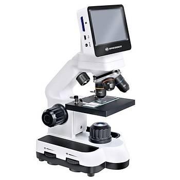 Bresser, LCD Touch, 40x-350x Optik - 1400x Dijital, Biyolojik Mikroskop