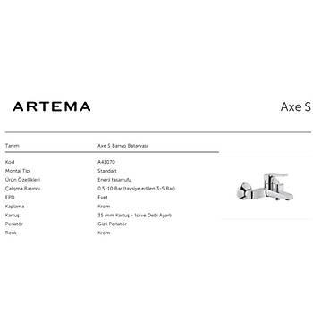 ARTEMA AXE S BANYO BATARYASI A41070