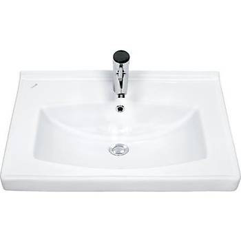 Creavit TF165 Sera Dolap Uyumlu Lavabo 65 cm Beyaz