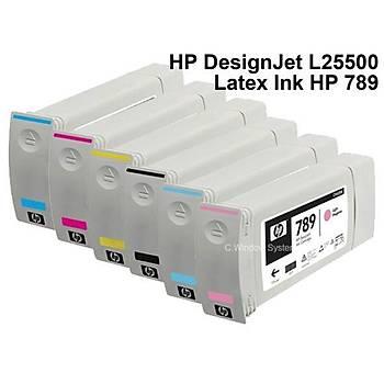 CH616A - HP 789 Latex Designjet L25500 ink 775ml - Cyan(mavi)