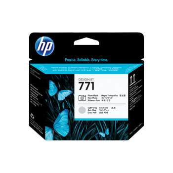 HP 771 Photo Black and Light Gray Designjet Printhead CE020A