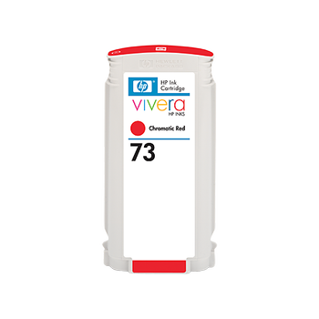 HP 73 130 ml Chromatic Red Ink Cartridge with Vivera Ink CD951A