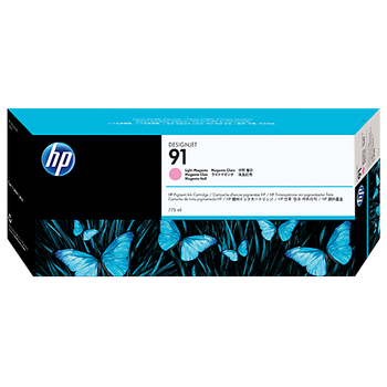 HP 91 775 ml Light Magenta Ink Cartridge with Vivera Ink C9471A