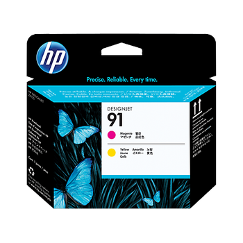 HP 91 Magenta and Yellow Printhead C9461A