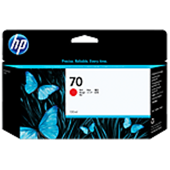 HP 70 130 ml Red Ink Cartridge with Vivera Ink C9456A