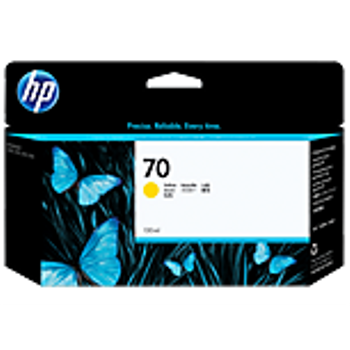 HP 70 130 ml Yellow Ink Cartridge with Vivera Ink C9454A