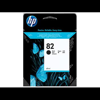 HP 82 69-ml Siyah Mürekkep Kartuþu CH565A