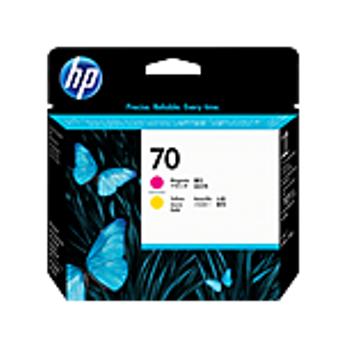 HP 70 Magenta and Yellow Printhead C9406A