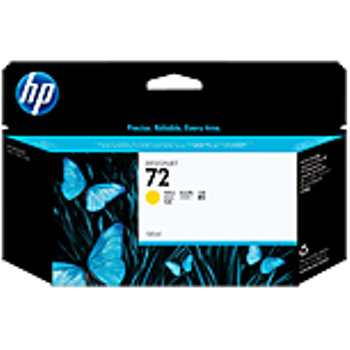 HP 72 130 ml Yellow Ink Cartridge with Vivera Ink C9373A