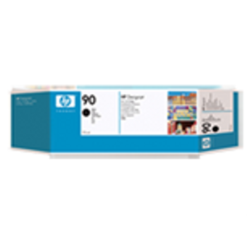 HP 90 Black Ink Cartridge 3-pack - 3 ink cartridges 775 ml each, not for individual sale C5095A