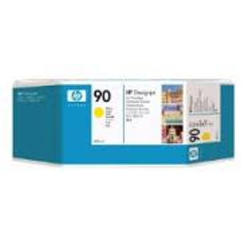 HP 90 Yellow Ink Cartridge 3-pack - 3 ink cartridges 400 ml each, not for individual sale C5085A