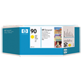 HP 90 400 ml Yellow Ink Cartridge C5065A