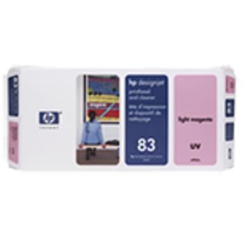 HP 83 UV Light Magenta Printhead and Printhead Cleaner C4965A