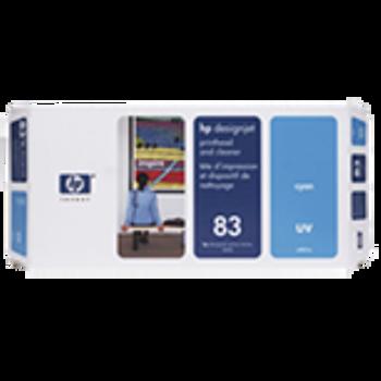 HP 83 UV Cyan Printhead and Printhead Cleaner C4961A