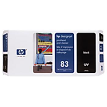 HP 83 UV Black Printhead and Printhead Cleaner C4960A