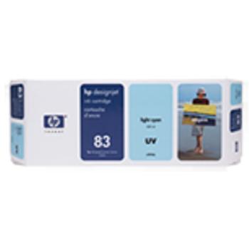 HP 83 680 ml UV Light Cyan Ink Cartridge C4944A