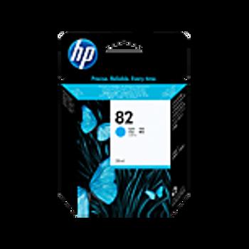 HP 82 69 ml Cyan Ink Cartridge C4911A