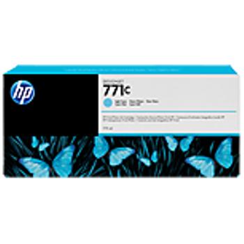 HP 771C 775-ml Açýk Camgöbeði Designjet Mürekkep Kartuþu B6Y12A