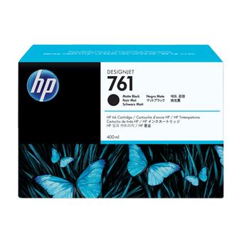HP 761 3x775ml Matte Black Ink Cartridge CR275A