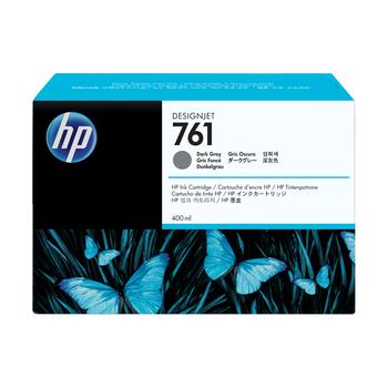 HP 761 3-pack 400-ml Dark Gray Designjet Ink Cartridge CR274A