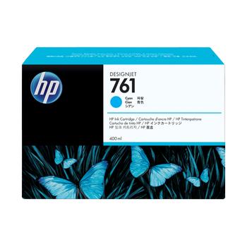 HP 761 3x400ml Cyan Ink Cartridge CR272A