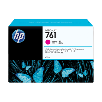 HP 761 3x400ml Magenta Ink Cartridge CR271A